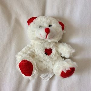 Other - ❗️ Valentine's Small White and Red Teddy Bear